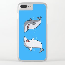 Sharks Clear iPhone Case