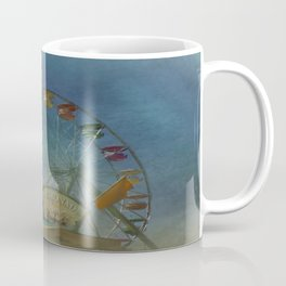 Textured Ferris Wheel Coffee Mug
