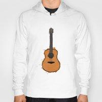 guitar Hoodies featuring Guitar by elyinspira