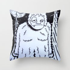Bigfeet Throw Pillow