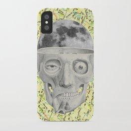 poor skeleton steps out iPhone Case