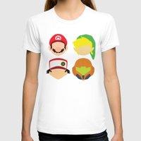 nintendo T-shirts featuring Nintendo Greats by MoleFole