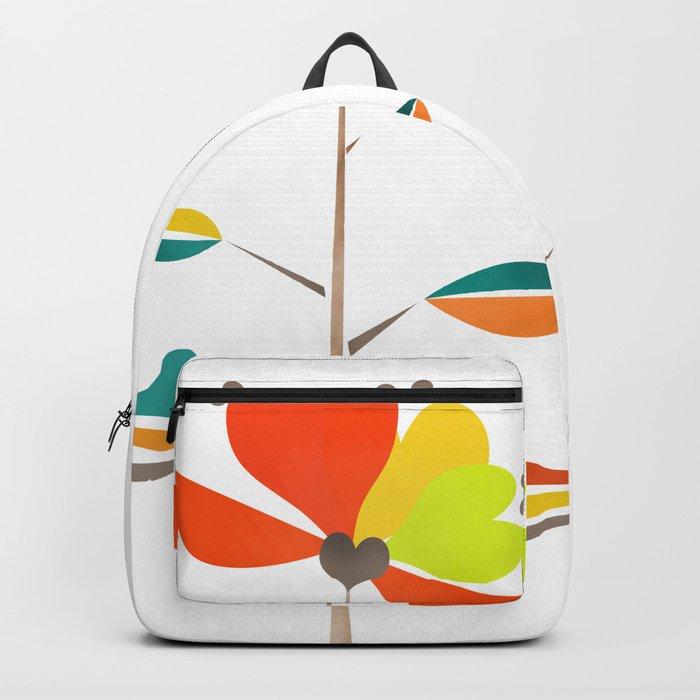Fantasy . Flower . Backpack