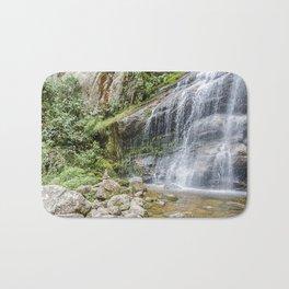 Waterfall bridal veil Bath Mat