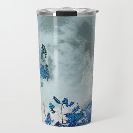 Super Moon v2 - Blue #buyart Travel Mug