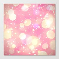 sparkles Canvas Prints featuring Sparkles by Poppo Inc.