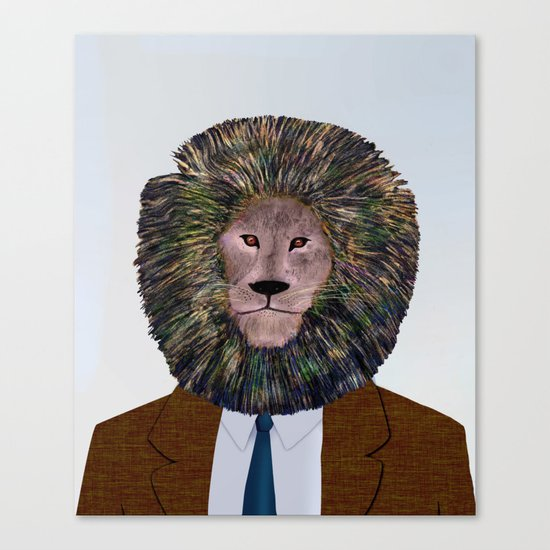 Uncle Leo's Portrait Canvas Print