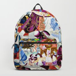 Dancing in the Paris Dancehall Bal Tabarin by Gino Severini Backpack