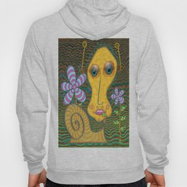 Portrait of the Artist as a Young Snail Hoody