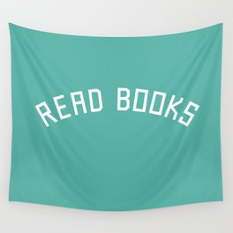 Read Books Wall Tapestry
