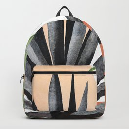 Abstract Tropical Art VII Backpack