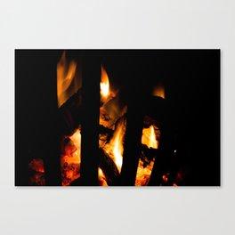 Conflagrant Canvas Print