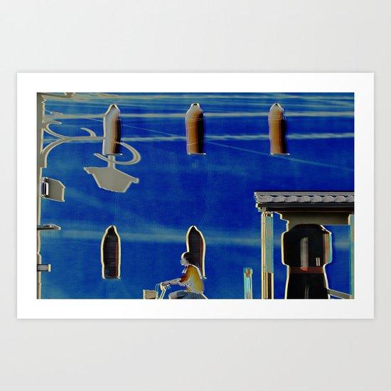 Chari Art Print