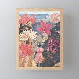 Desert Blooms Framed Mini Art Print