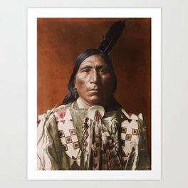 Little Hawk - Brulé - American Indian Art Print