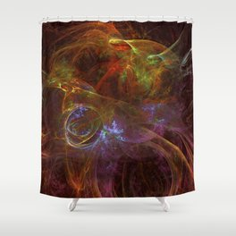 Calculus Shower Curtain