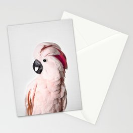 Pink Cockatoo Stationery Cards
