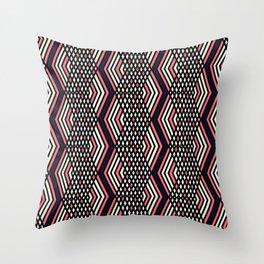 Zigzag pattern 2 Throw Pillow