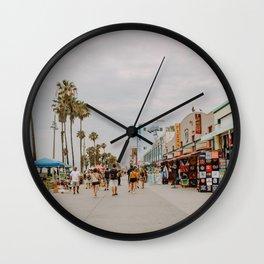 More California / Venice Boardwalk Wall Clock