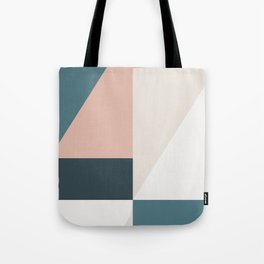 Cirque 01 Abstract Geometric Tote Bag