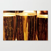 champagne Canvas Prints featuring Champagne  by Al Robinson