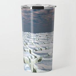 Fragmented Landscape Travel Mug