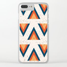 Arrowhead Speckle Clear iPhone Case