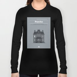 Horror Film Houses 01 Long Sleeve T-shirt