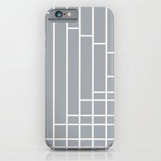 Fuzz Outline Grey Slim Case iPhone 6s