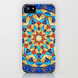 Golden Spiral Flight iPhone Case
