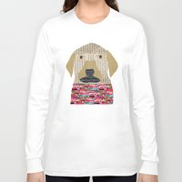 labrador Long Sleeve T-shirts featuring the labrador by bri.buckley