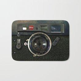 Retro Rusty Vintage camera iPhone 4 5 6 7 8 x, pillow case, mugs and tshirt Bath Mat
