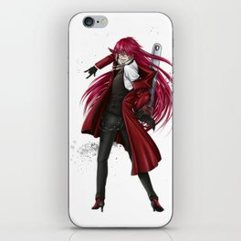 Grell : Red Death iPhone Skin