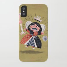 Queen of Hearts - Alice in Wonderland iPhone X Slim Case