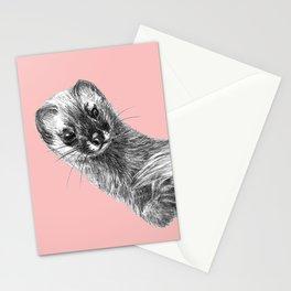 Siberian Weasel Kolinsky Stationery Cards