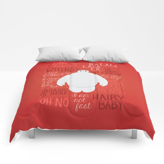 Hello, I'm Baymax Comforters
