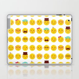 Cheeky Emoji Faces Laptop & iPad Skin