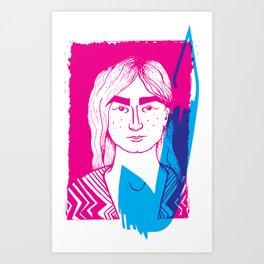 It's electric! Art Print