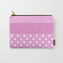 Combined pink pattern Carry-All Pouch