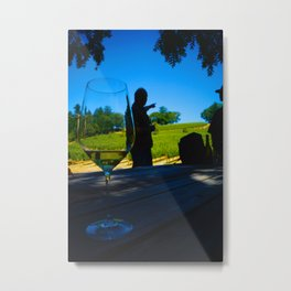 Napa, California - Up There Metal Print