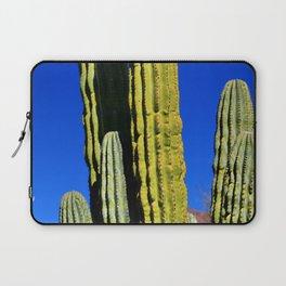 Colorful Cactus & Blue Sky Laptop Sleeve