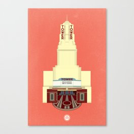 Tower Theater Canvas Print