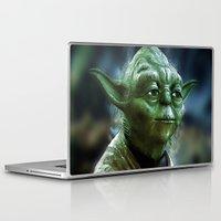 yoda Laptop & iPad Skins featuring Yoda by Robin Curtiss