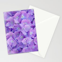 Hydrangea lilac Stationery Cards