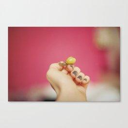 Little Yellow Ninja Dude Canvas Print