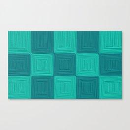 Blue Scales  Canvas Print