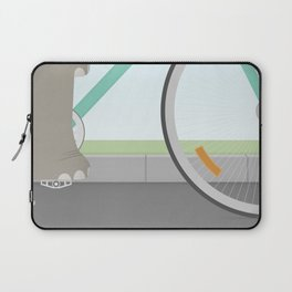 Elephants Can Ride Bicycles Too Laptop Sleeve
