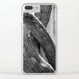 Haunted Lovers Clear iPhone Case