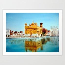 The Golden Temple Art Print