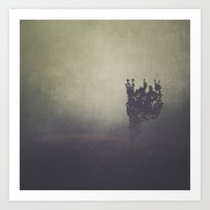Purple Fog Art Print